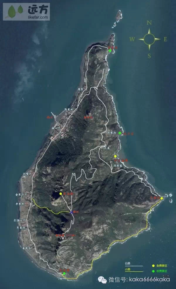 """是青岛和中国北方第一高岛,在中国仅次于台湾岛和海南岛,有""""中国第"""